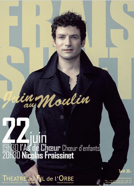 Affiche Nicolas Fraissinet