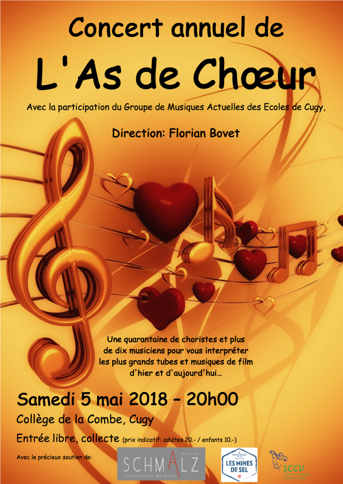 As de choeur affiche 2018-png